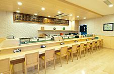 富寿し直江津店 カウンター