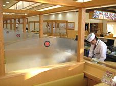 廻鮮富寿し長岡古正寺店 店内写真03